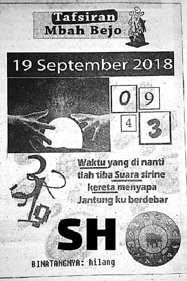 Welcome To Prediksi Alam Kode Syair Hongkong 19 September 2018