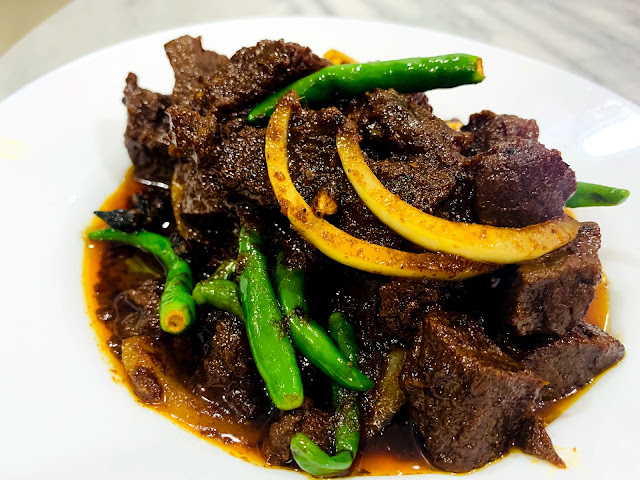 tips masak daging hitam berempah yang sedap