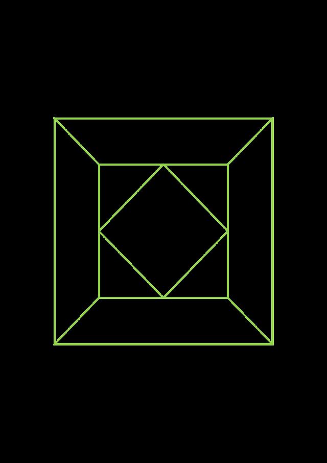 Template square hexagon wallpaper tile A4 arabesque geometry islamic art