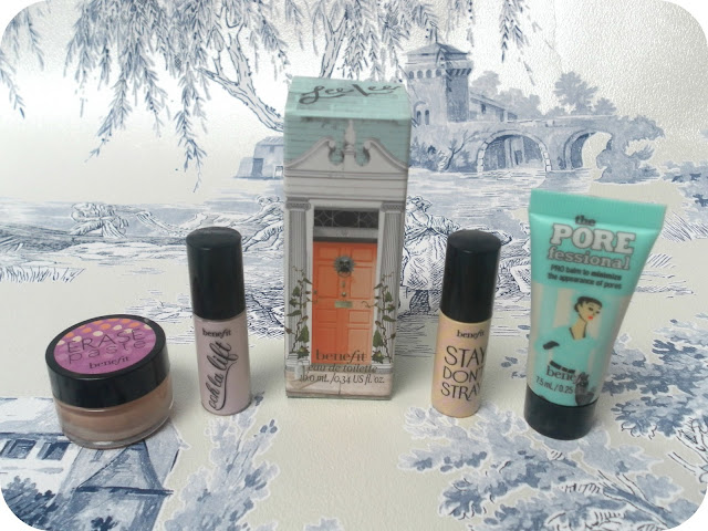 A picture of Benefit mini samples