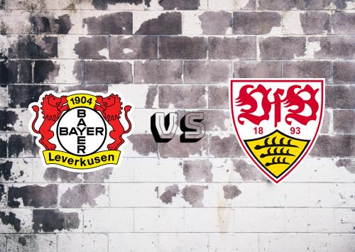 Bayer Leverkusen vs Stuttgart  Resumen