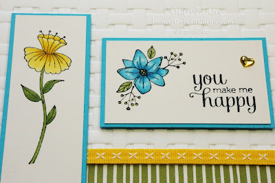 Heart's Delight Cards, Flirty Flowers, Stampin' Up!
