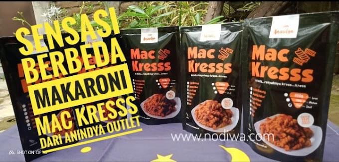 Sensasi Berbeda  Makaroni Mac Kresss dari Anindya Outlet