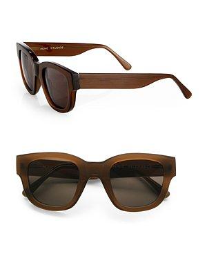 15b517e98fb3 Acne Square Plastic Sunglasses