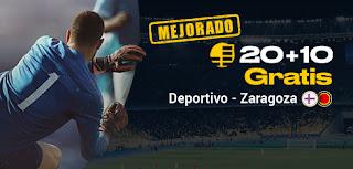 Bwin promocion Deportivo vs Zaragoza 8 diciembre 2019