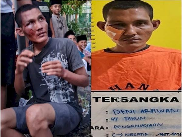 pelaku pemukulan seorang imam di pekanbaru