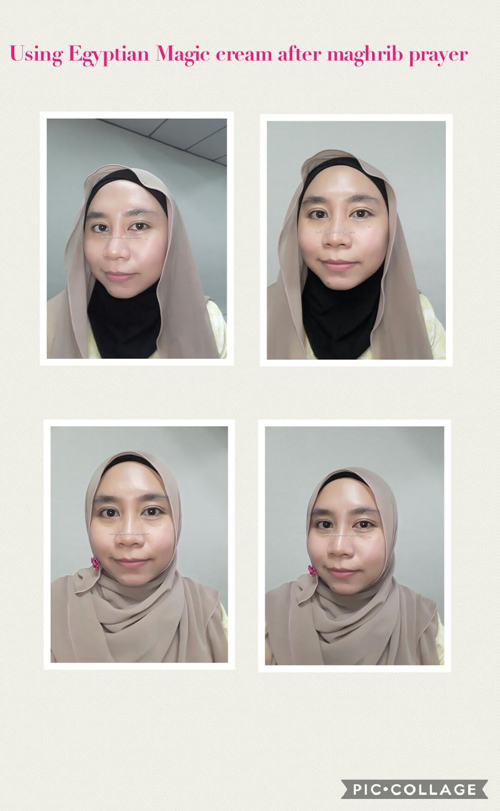 Healthy Nurul Beauty: My review on using Egyptian Magic cream