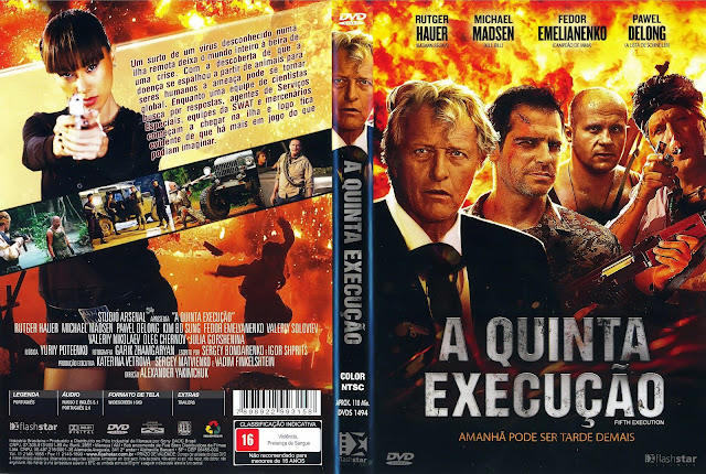Capa DVD A Quinta Execução