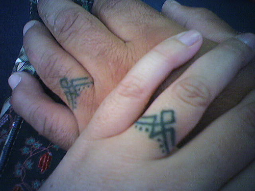 Celtic Wedding Ring Tattoo: Ring Tattoo Designs And Collection
