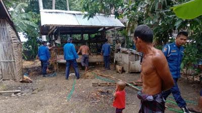 Gara-gara Bakar Sampah, Rumah Warga di Bone Nyaris Dilalap Si Jago Merah