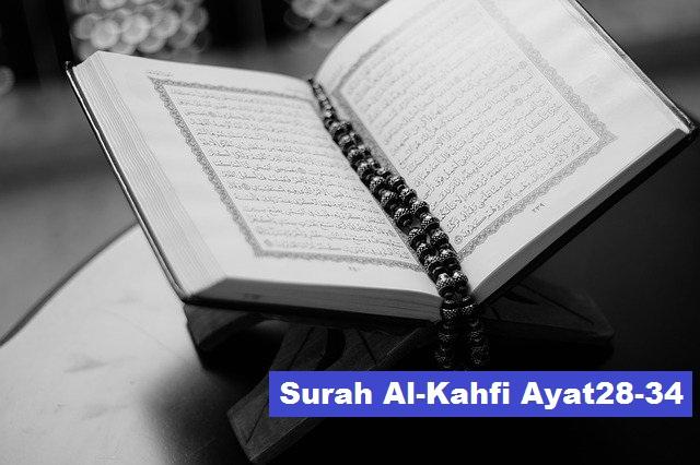 Murottal Surah Al-Kahfi Ayat 28-34