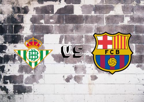 Real Betis vs Barcelona  Resumen y Partido Completo