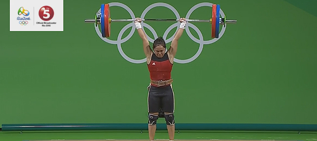 Hidilyn Diaz Wins Silver in Rio Olympics 2016 (REPLAY VIDEO)