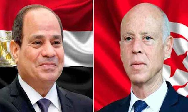 Saied exprime le soutien du peuple tunisien avec l'Egypte