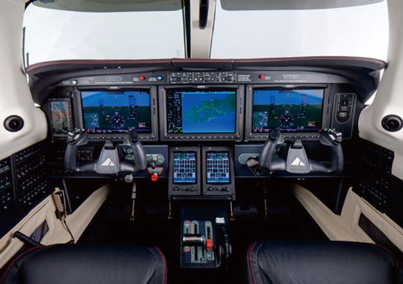 Piper M600 cockpit