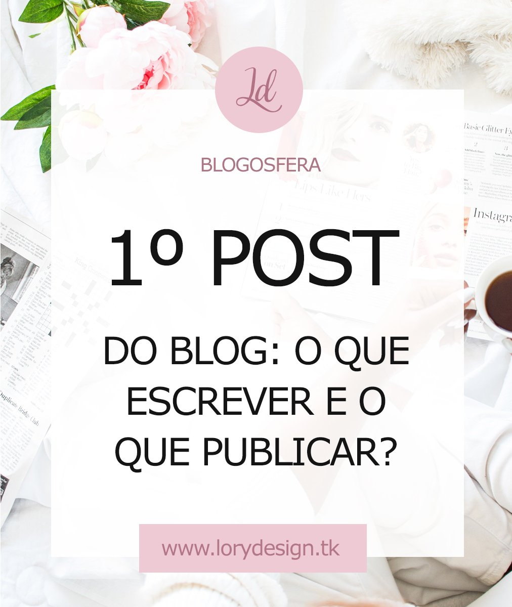 O que escrever no blog
