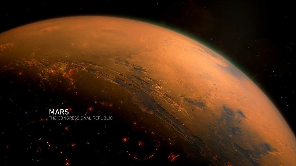 Colonized Mars in Season 4 of The Expanse