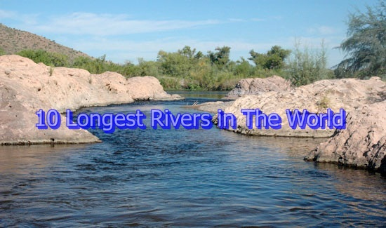 Top Longest Rivers In The World MOST NOOB - Top ten largest rivers