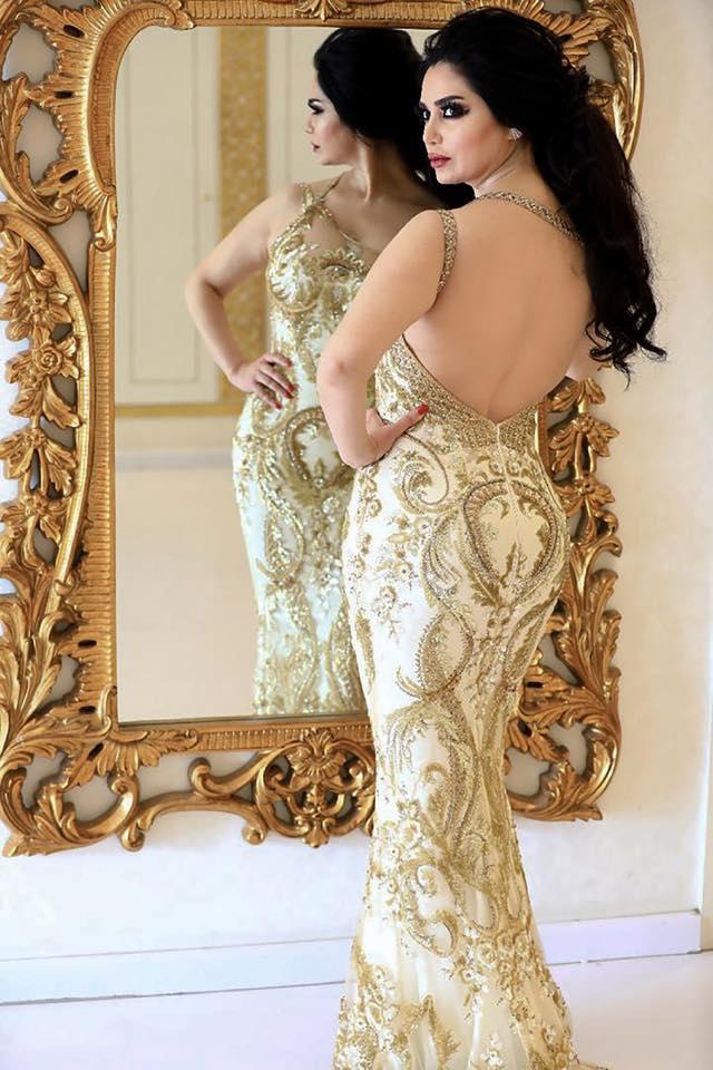 رنا الأبيض بجلسة تصوير جريئة بملابس مكشوفة