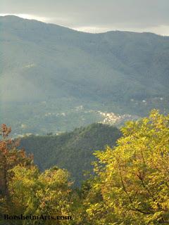 view, Tuscany, Castelvecchio, Valleriana, Italy, Cava Nardini