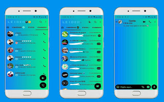 Colorful Theme For YOWhatsApp & Fouad WhatsApp By Leidiane
