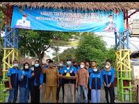 HUT KE 61, Karang Taruna Desa Rawa Boni Gelar Bakti Sosial Pengecetan dan Syukuran