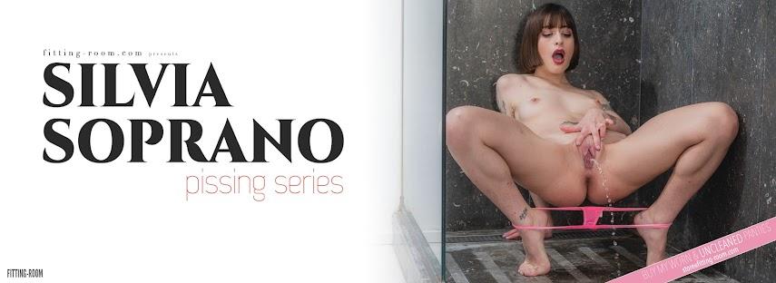 [Fitting-Room] Silvia Soprano - Pissing Series / Pissed Panties