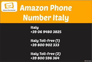 Amazon Phone Number Italy