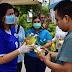 Familias riobravenses reciben líquido antibacterial