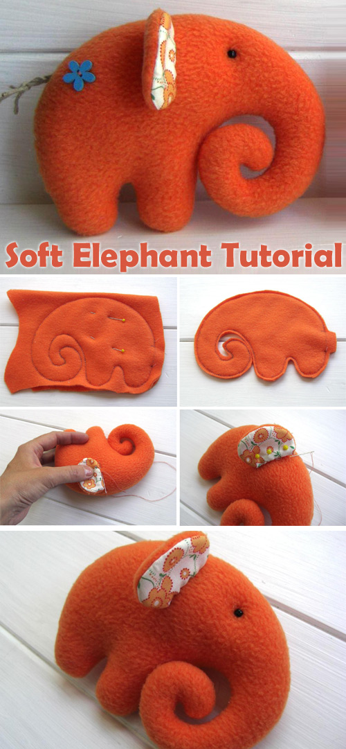 Soft Animal Elephant Tutorial