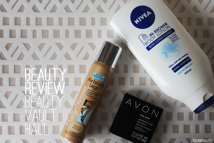 BEAUTY REVIEW // Beauty Vault Haul - cassandramyee