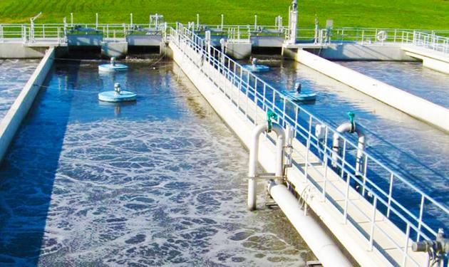 Proses pengolahan limbah cair pada instalasi pengolahan limbah