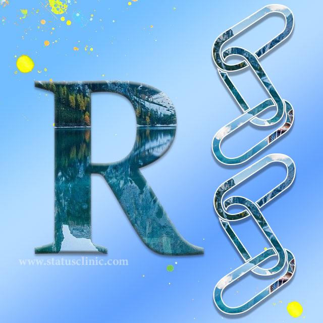 R name photo, R names for boys, R names for girls, R name wale logo ka Vyaktitva