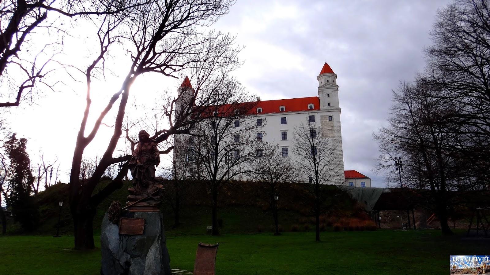 Slovaquie Bratislava château