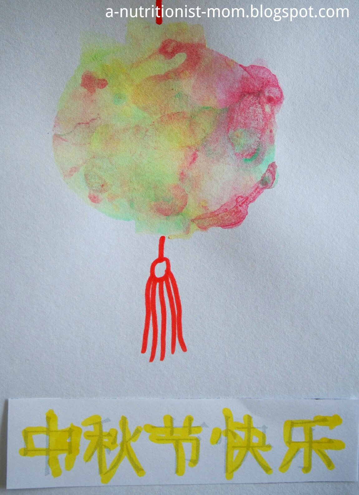 Journal Of A Nutritionist Mom Crafts For Tots Moon And