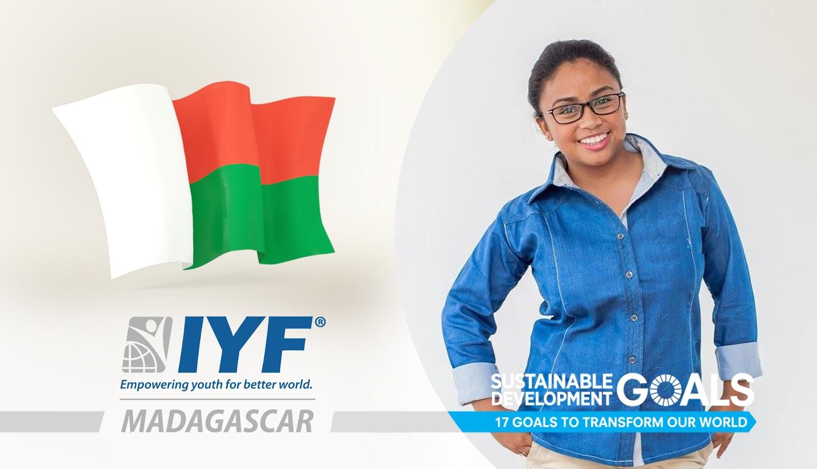 Lova Randrianasolo, IYF Representative in Madagascar