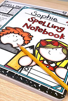 spelling-choice-board