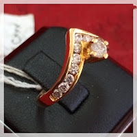 Jual Cincin Berlian Bentuk Mahkota