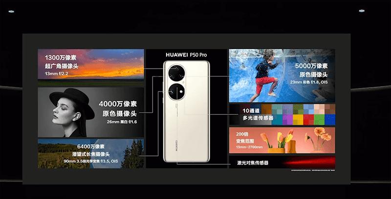 Huawei P50 Pro cameras