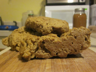 how to make seitan - raw seitan image