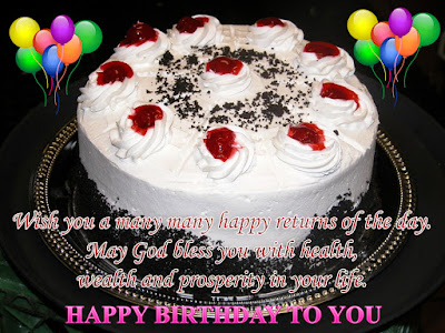 Happy Birthday Wishes And Quotes For the Love Ones: wish you a many happy returns of the day.