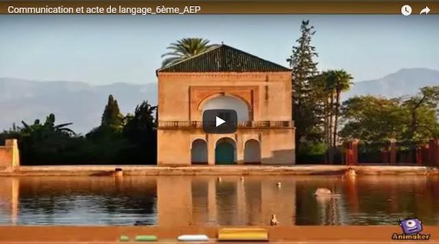 Communication et acte de langage 6ème AEP