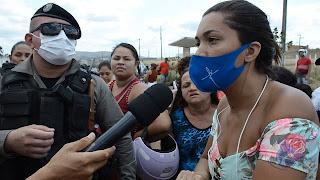 Em Guarabira: Revista em  presídio e suspensão das visitas gera confusão e protesto por parte de familiares de detentos