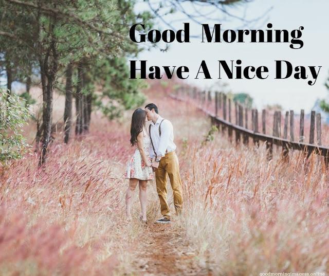 good morning love flower images