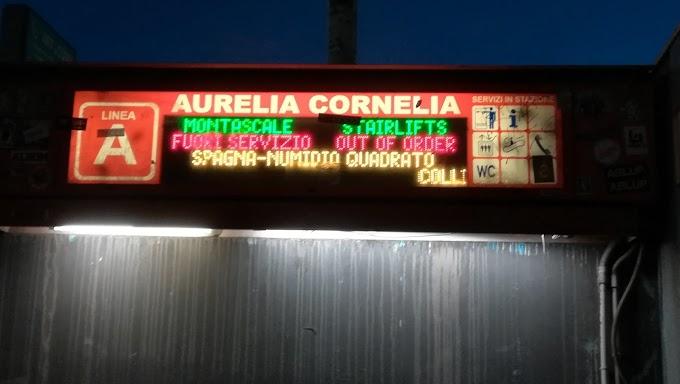 Atac: riapre la stazione Cornelia della Metro A