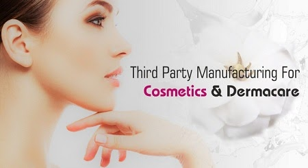 Third party manufacturing cosmetic company