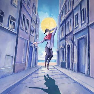 [Lirik+Terjemahan] Yorushika - Tsuki ni Hoeru (Melolong ke Bulan) / Howl at the Moon