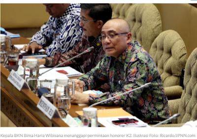 Honorer K2 Minta Diangkat Jadi PNS tanpa Tes, Kepala BKN: Negara Lagi Kesusahan