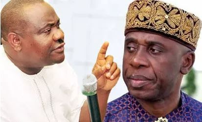 """""""You Are To Blame"""" - Amaechi, Wike At War Over Insecurity In Rivers"""