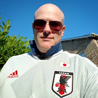 Me, in the Japan away strip. Hot, right?!